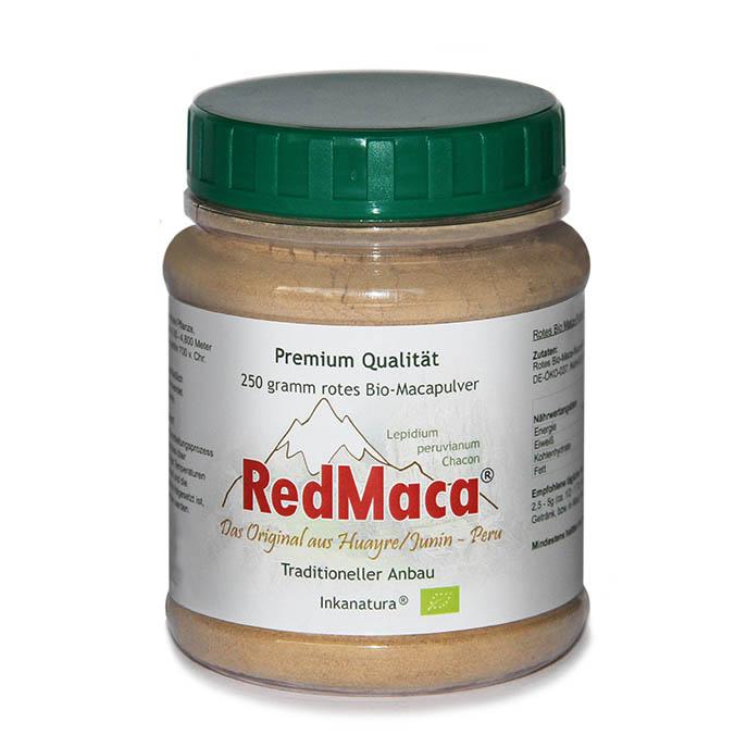 red maca pulver 750 gr dose eu bio siegel. Black Bedroom Furniture Sets. Home Design Ideas